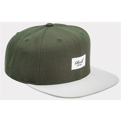czapka z daszkiem REELL - Pitchout 6-Panel Olive / Light Grey (OLIVE / LIGHT GREY) rozmiar: OS, kolor szary