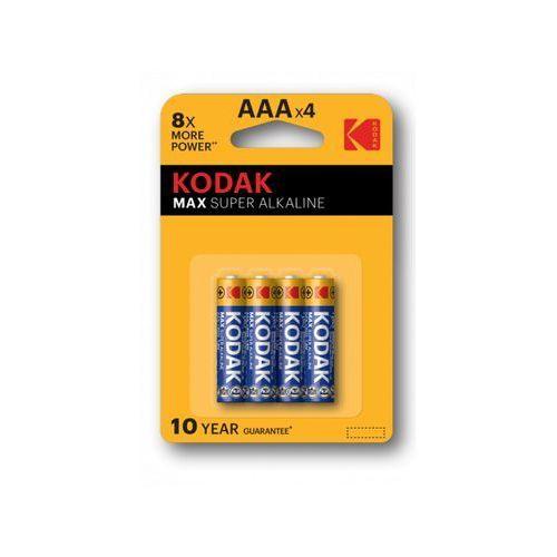 Baterie AAA LR3 KODAK Max K3A-4 (4 szt.)
