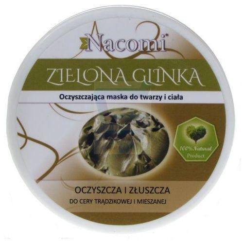 Nacomi - naturalna glinka zielona o działaniu głęboko oczyszczającym i ściągającym: rozmiar - 100 ml (5901878683522)