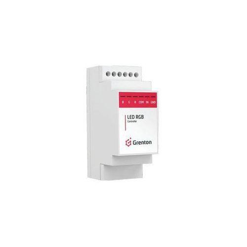 grenton 1.0 moduł sterownika oświetlenia led rgb din tf-bus rgb-028-t-01 - autoryzowany partner grenton, automatyczne rabaty. marki Grenton