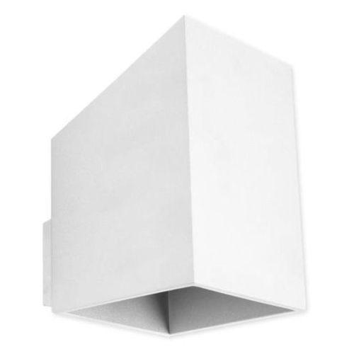 Kinkiet rubik długi biały - biały marki Lampex