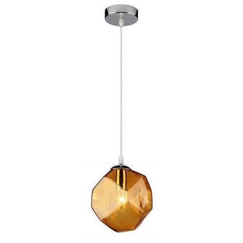 Lampa wisząca jewel 31-42934 szklana oprawa zwis bursztynowy marki Candellux
