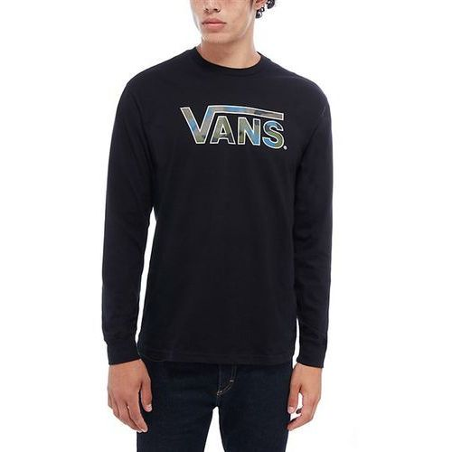 Koszulka - vans classsic logo fill ls black-camo (blr) rozmiar: m marki Vans