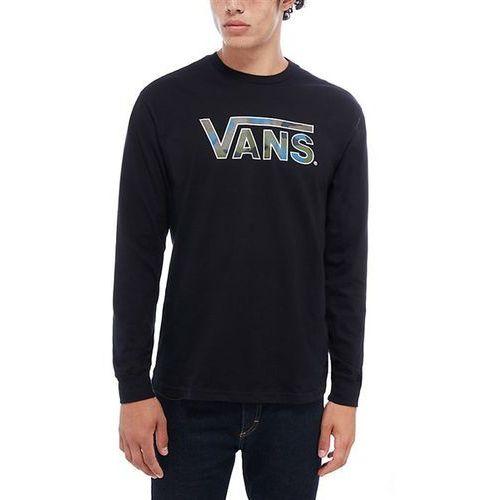 koszulka VANS - Vans Classsic Logo Fill Ls Black-Camo (BLR) rozmiar: L