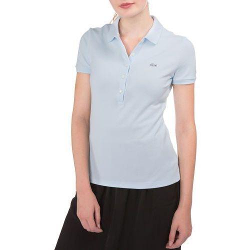 Lacoste Polo Koszulka Niebieski L