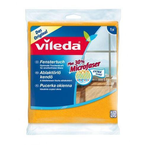 Vileda Ścierka okienna 141327 plus 30% mikrofibry ( żółty)- zamów do 16:00, wysyłka kurierem tego samego dnia! (4003790006296)
