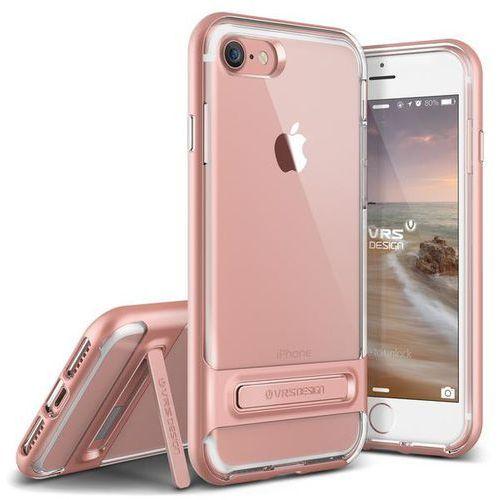 Etui  crystal bumper do iphone 7 złoty róż od producenta Vrs design