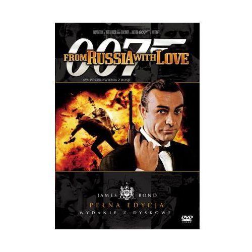 James Bond ekskluzywna edycja 2-płytowa: 007 Pozdrowienia z Rosji (DVD) - Terence Young