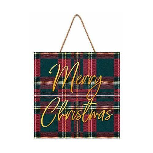 Tabliczka świąteczna Merry Christmas 30 x 30 cm