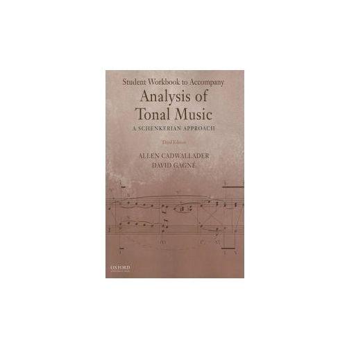 Student Workbook to Accompany Analysis of Tonal Music