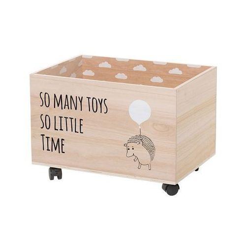 Skrzynia drewniana na zabawki marki Bloomingville