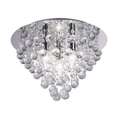 Lampa sufitowa LONDON CRYSTAL srebrna E14 REALITY (5906737300138)