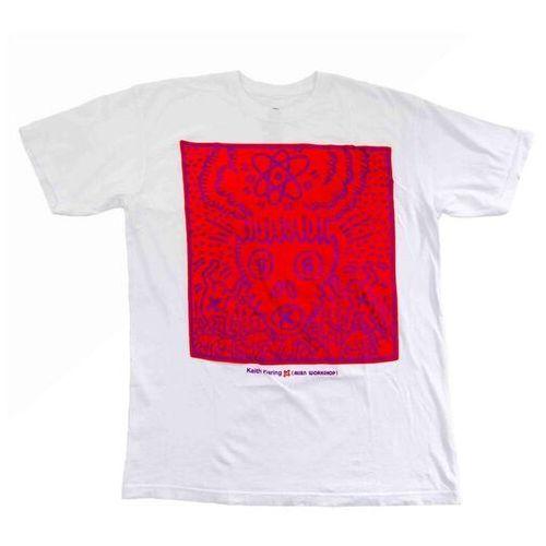 koszulka ALIEN WORKSHOP - Haring Atomic Skull White (BILA) rozmiar: L