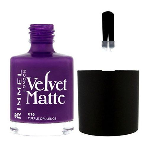 Rimmel London Velvet Matte Nail Polish 12ml W Lakier do paznokci 015 Midnight Kiss