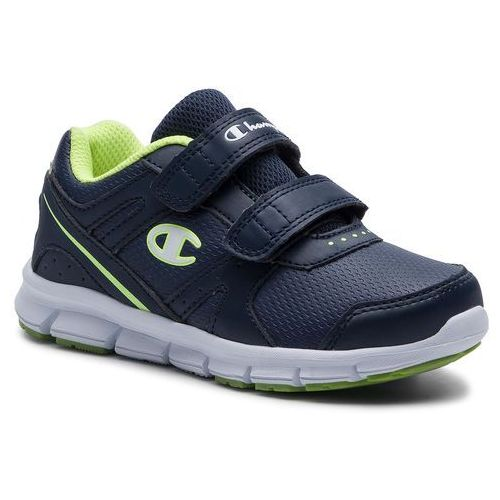 Champion Sneakersy - low cut shoe combo pu b ps s31398-s19-bs043 blu/lime