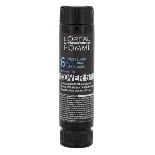 L'oréal professionnel homme color farba do włosów 3 szt. odcień 6 dark blond (color gel ammoniak-free) 3x50 ml (3474634006498)