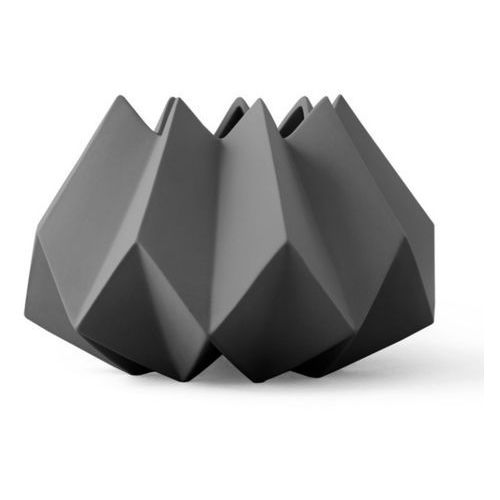 Menu Wazon folded vase carbon