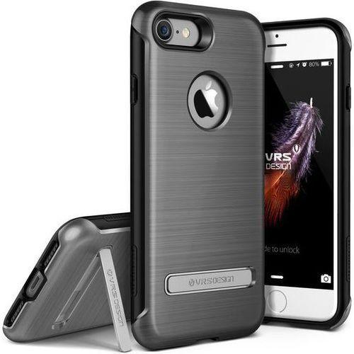 Etui VRS DESIGN Duo Guard do iPhone 7 Srebrny stalowy - sprawdź w wybranym sklepie