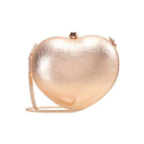 MICHAEL Michael Kors PEARL HEART BOX Kopertówka soft pink, kolor różowy