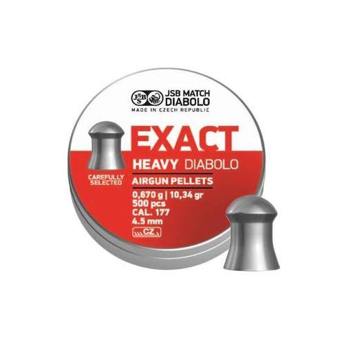 Śrut diabolo JSB Exact Heavy 4,52 mm 500 szt.