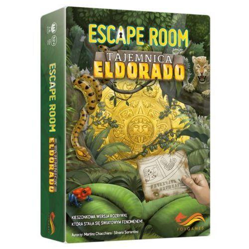 Foxgames Gra escape room tajemnica eldorado - darmowa dostawa od 250 zł!!