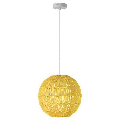 Rabalux Lampa wisząca arsena 2222 1x60w e27 żółta