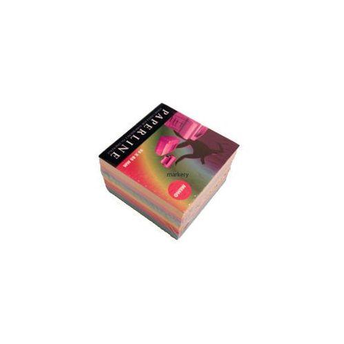 Kostka papierowa 10 kol prosta 500 kart 85x85 mm marki Emeko