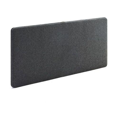 Panel dźwiękochłonny ZIP CALM, 1400x650 mm, ciemnoszary, 129573