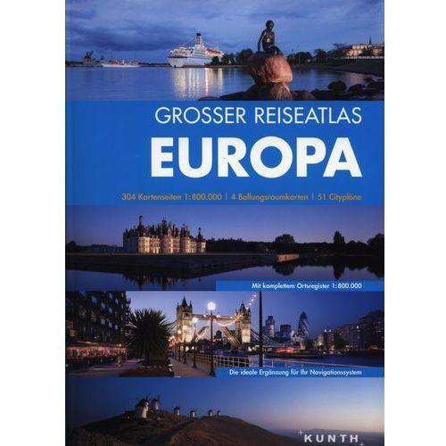 Europa. Atlas samochodowy. 1:800 000. Wersja niemiecka