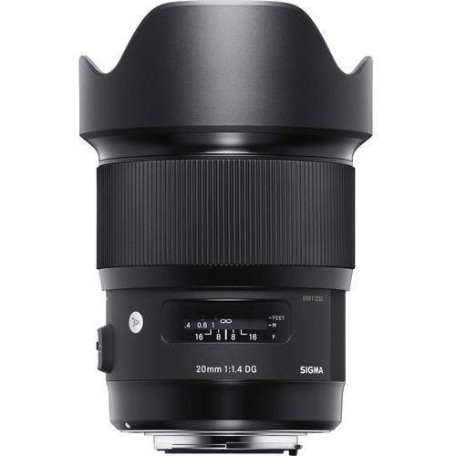 Sigma A 20mm 1.4 A DG HSM Canon - produkt w magazynie - szybka wysyłka!, 0085126412548