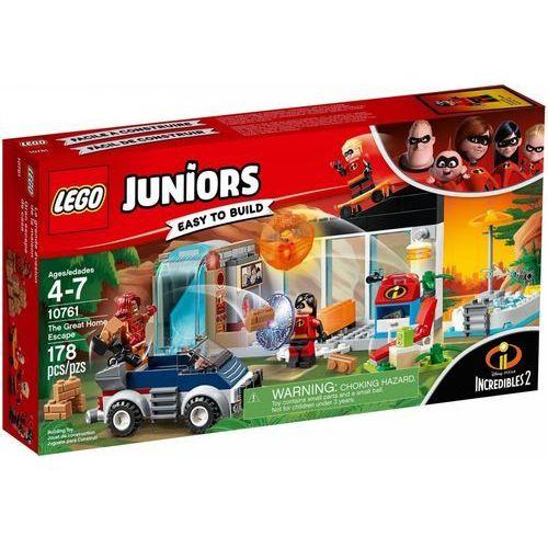 OKAZJA - 10761 WIELKA UCIECZKA Z DOMU (The Great Home Escape) - KLOCKI LEGO JUNIORS INIEMAMOCNI