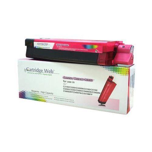 Toner magenta oki c3100/c5100/c5450 zamiennik 42804514/42127406/42127455 marki Cartridge web