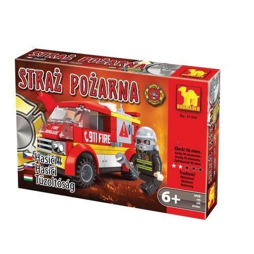 Dromader STRAŻ Klocki straż pożarna ambulans 96el. +6 21303