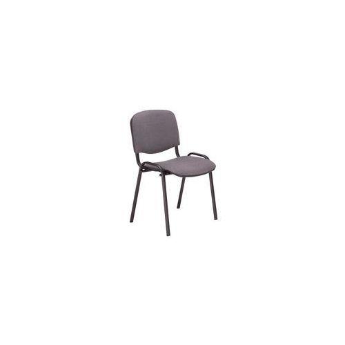 Krzesło biurowe konferencyjne iso szary marki Nowy styl