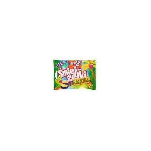 Żelki owocowe nimm2 Śmiejżelki tropikalne wzbogacone witaminami 100 g (4014400917666)