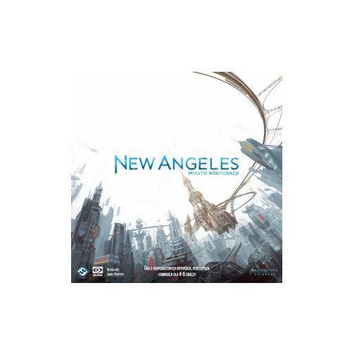 New angeles: miasto korporacji. gra planszowa marki Galakta
