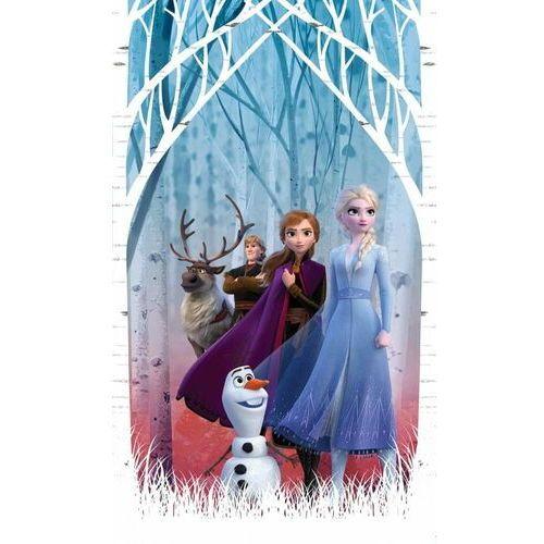 AG design zasłona Elsa z przyjaciółmi w jesiennym lesie 140 x 245 cm 1 szt.