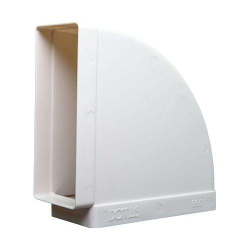 Kolanko płaskie poziome Domus 204x60 mm kod 550 - Specjalistyczny sklep - 28 dni na zwrot - Raty 0%