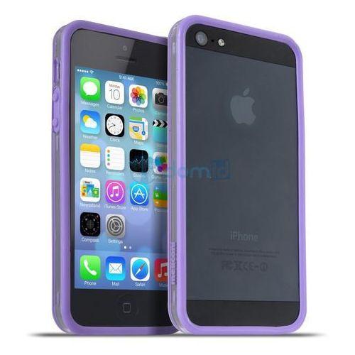 Meliconi Etui na telefon Apple iPhone 5/5S Bumper - (40610400013BA) Darmowy odbiór w 20 miastach! (8006023203406)
