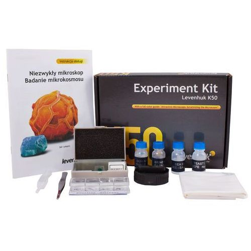Zestaw do eksperymentów LEVENHUK K50 (0611901511900)
