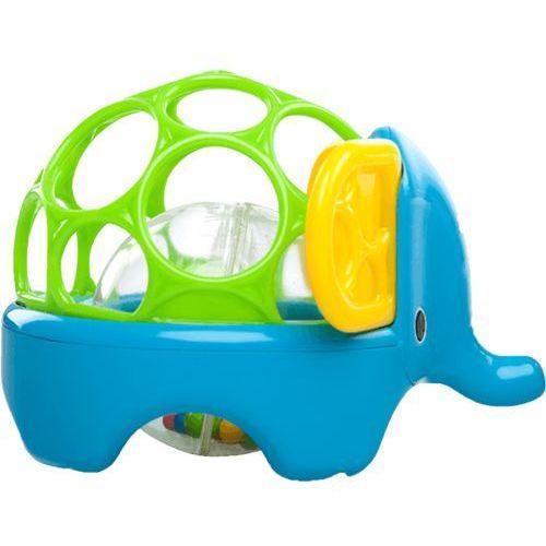 BRIGHT STARTS Zabawka zwierzątko Oball Rollie Rattles™, 3m+ (słoń) - sprawdź w wybranym sklepie