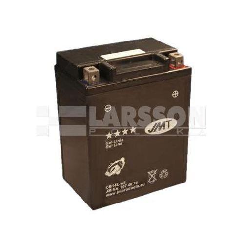 Akumulator żelowy jmt yb14l-a2 (cb14l-a2) 1100336 yamaha fj 1200, fz 750, xs 650 marki Jm technics