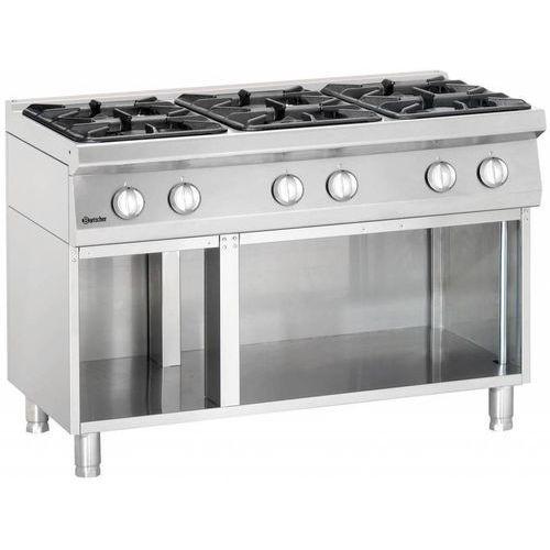 6-palnikowa kuchnia gazowa z otwartą podstawą marki Bartscher. Najniższe ceny, najlepsze promocje w sklepach, opinie.
