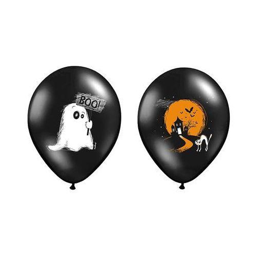 Party deco Balony czarne na halloween - duszek - 37 cm - 5 szt.