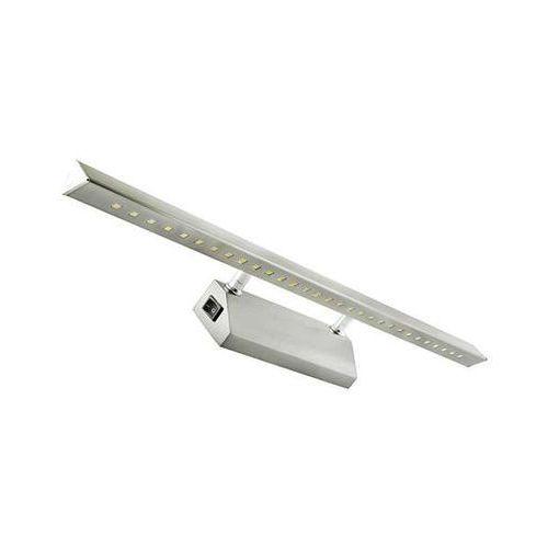 Kinkiet LAMPA ścienna RITON 03074 Ideus OPRAWA metalowa LED 6W galeryjka nad lustro satyna