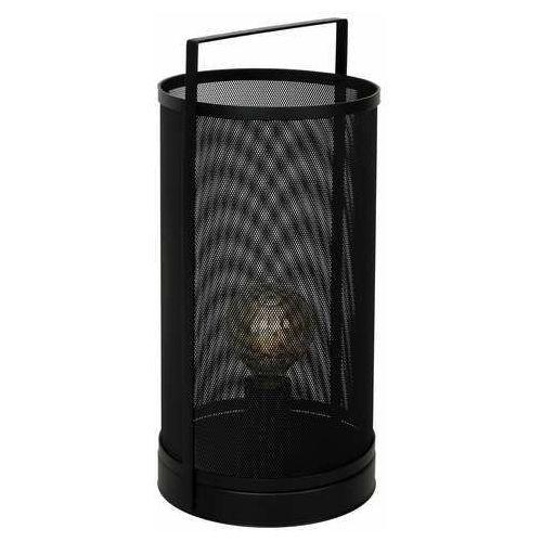 Luminex rim 1123 lampa stołowa lampka 1x60w e27 czarny