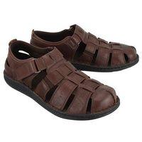 Nik 06-0231-41-7-02-02 brązowy, sandały męskie