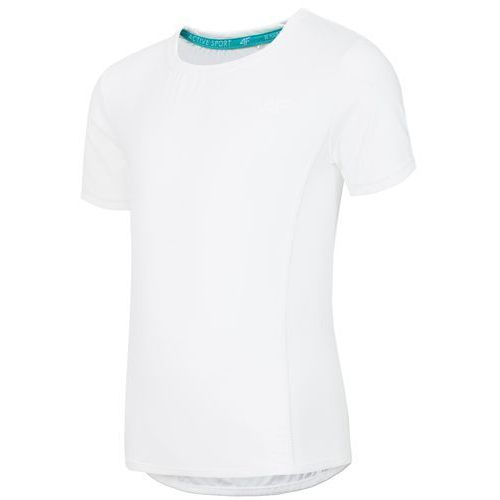 Koszulka treningowa dla dużych dziewcząt JTSD401 - biały, kolor biały