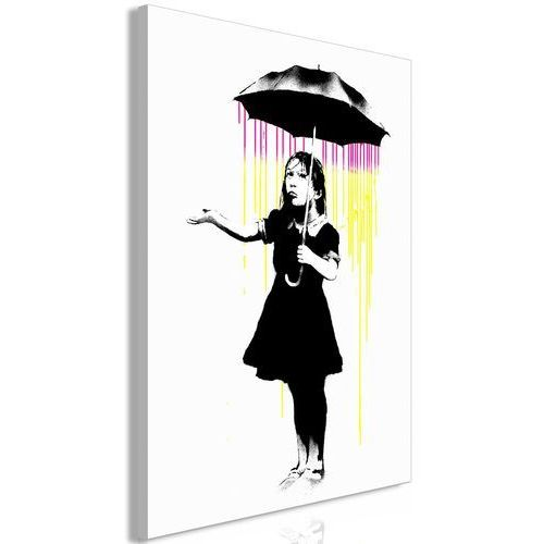 Obraz - dziewczynka z parasolką (1-częściowy) pionowy marki Artgeist