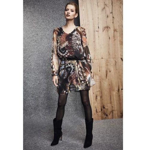 Wzorzysta sukienka - marki Ennywear